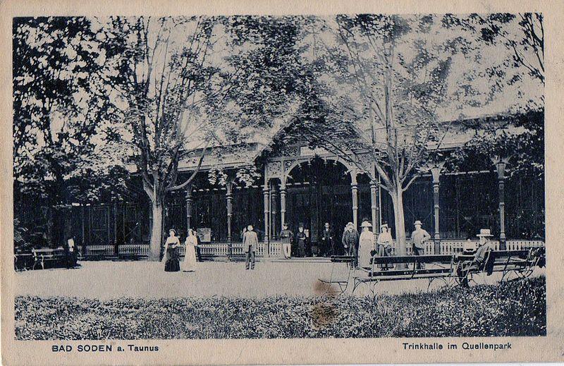 Alte Trinkhalle um 1920
