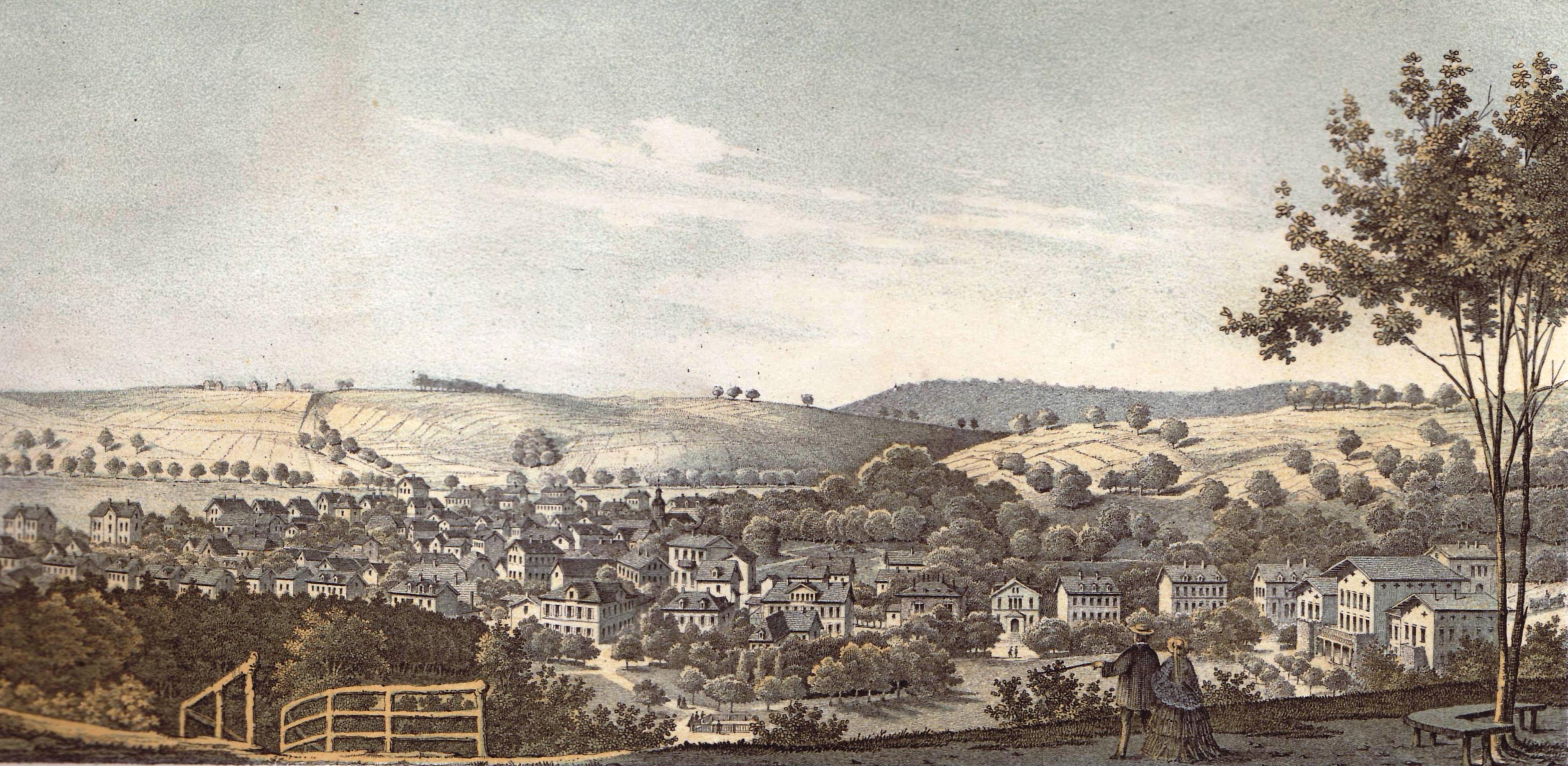 Ansicht von Soden 1858 Grossmann