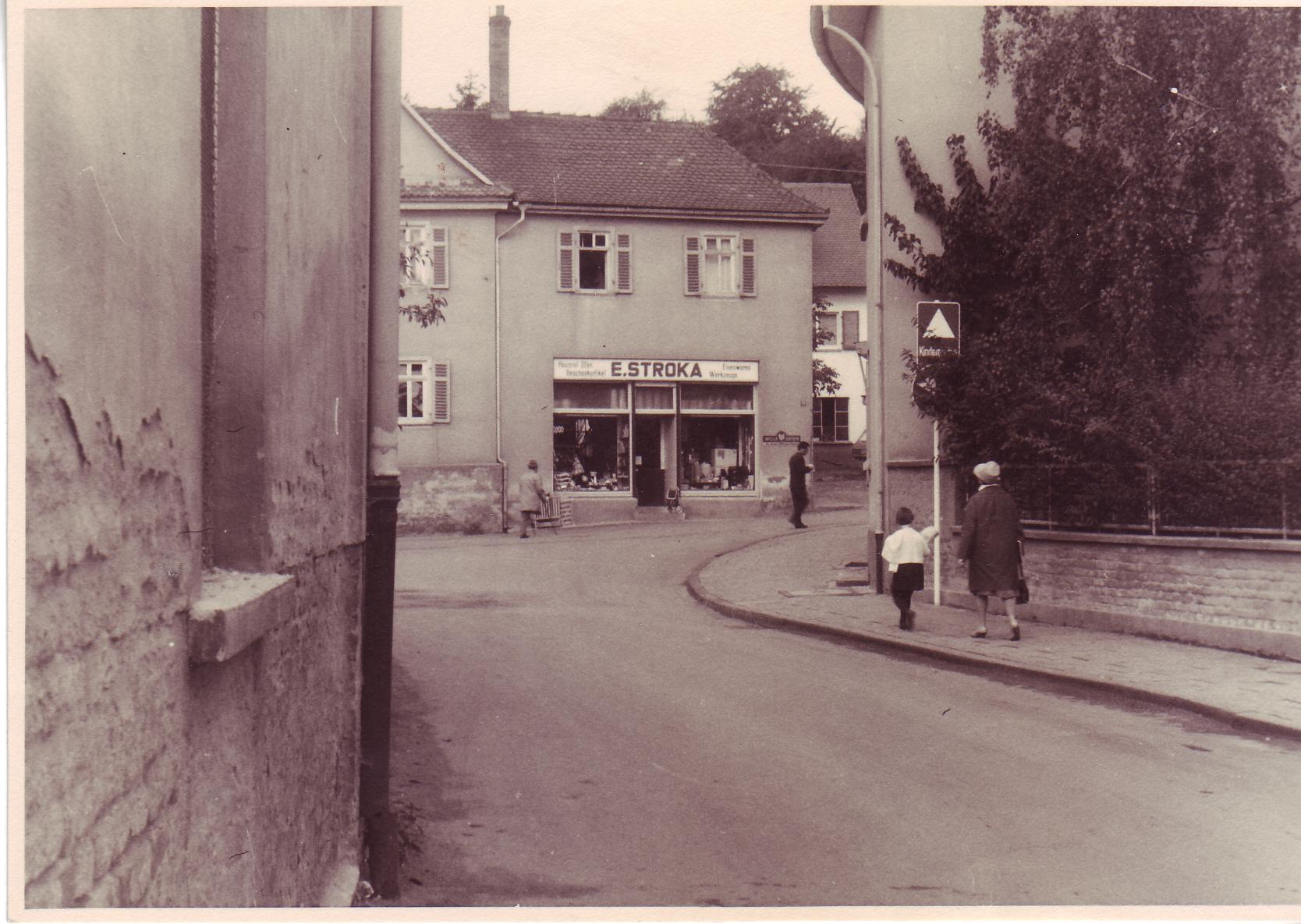 Hauptstrasse Stroka Laden 1962