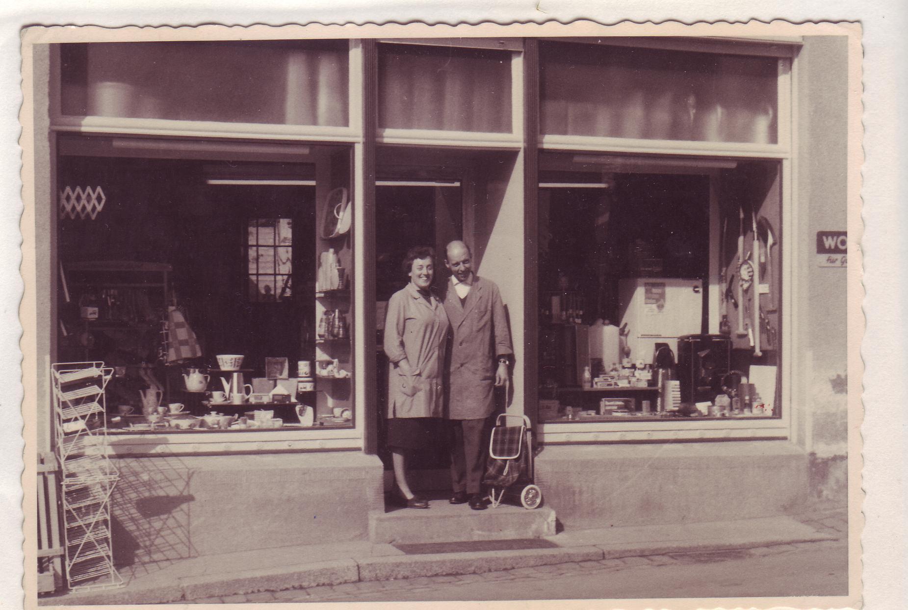 Hauptstrasse Stroka Laden 2 1962